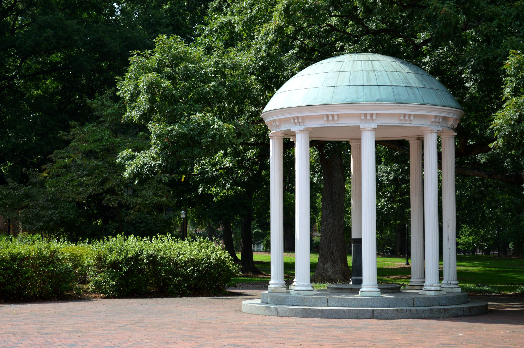 the old well at UNC-Chapel Hill
